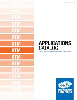 KTM Applications 2013