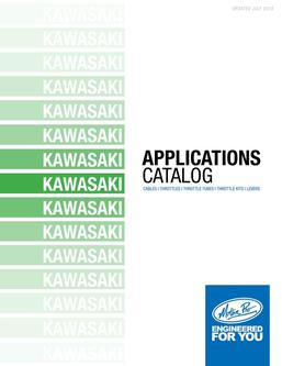 Kawasaki Applications 2013