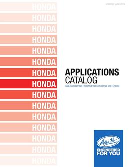 Honda Applications 2013
