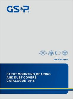 Strut mountings, bearings, dust cover 2015