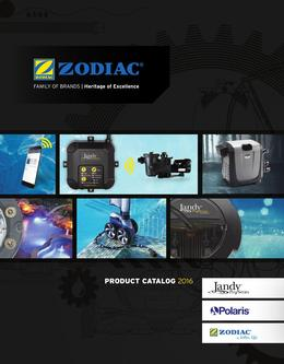 2016 Zodiac Product Catalog