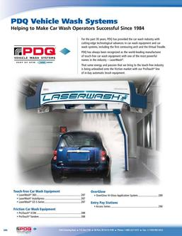 2016 PDQ Vehicle Wash Systems