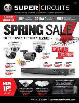 Spring Sale - Our Lowest Prices Ever! 2016