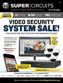 Video Security, System Sale 2016
