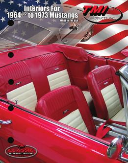 Interiors for 1964½-1973 Mustangs 2016