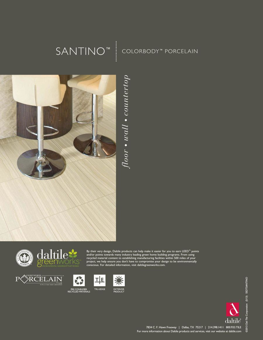 Page Of Santino - Daltile industry