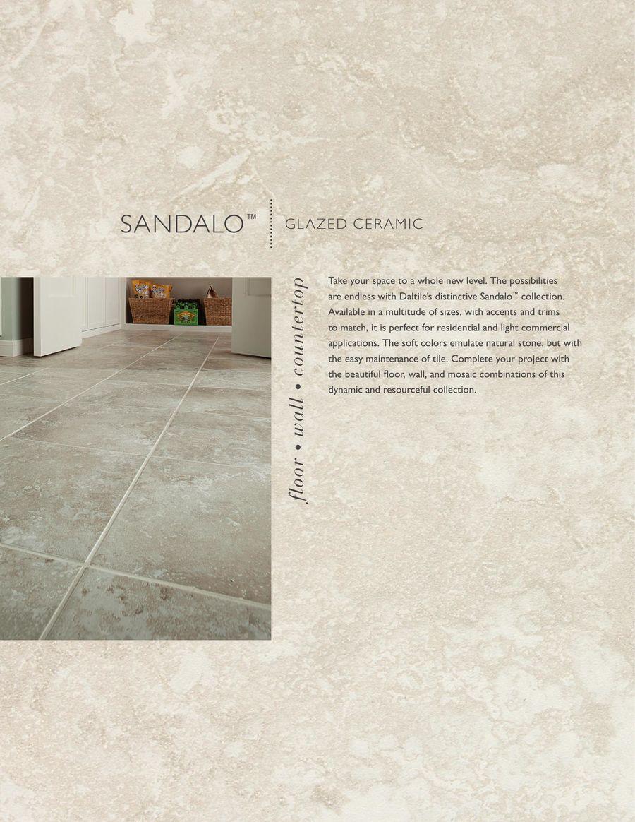 Sandalo 2016 By Daltile