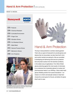 Honeywell & North hand protection 2016