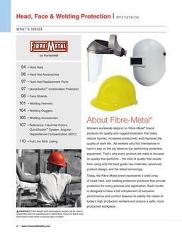 Fibre-Metal Head, Face & Welding Protection 2016