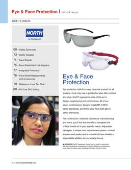 North Eye & Face Protection 2016