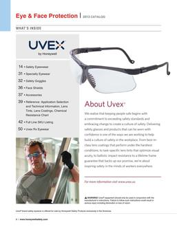 Uvex Eye & Face Protection 2016