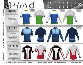 2016 Cycling Retail Line