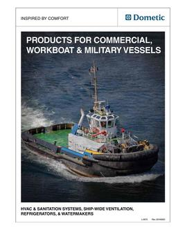 Dometic Marine - Commercial, Workboat & Military Vessels 2016
