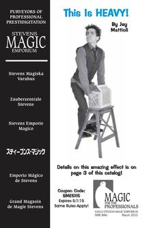 Magic Accessories and Supplies March/April Catalog 2015