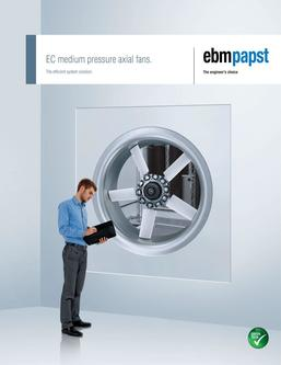 EC Medium pressure axial fans