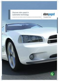 Discover ebm-papst in automotive technology