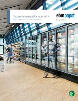 Discover ebm-papst at the supermarket