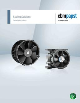 Cooling Solutions for the lighting industry