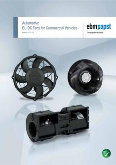 Automotive brushless BL-DC Fans for Commercial Vehicles 2015