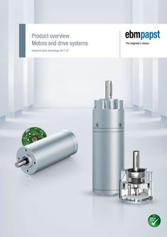 Product overview Motors and drive systems (version 2017-07)