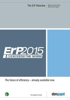 The ErP Directive: The future of efficiency – already available now 2017