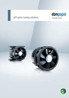 LED active cooling solution 2017