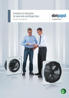 GreenTech EC centrifugal fans for hotel climate control systems 2017