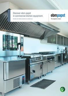 Discover ebm-papst in commercial kitchen equipment 2017