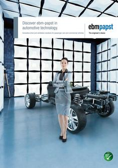 Discover ebm-papst in automotive technology 2017