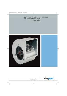 EC centrifugal blowers - dual inlet (version 04/2008)