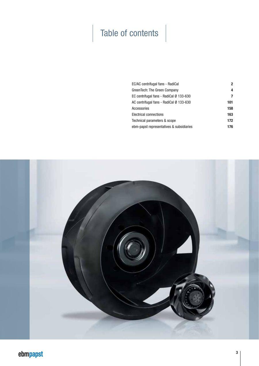 EBM-PAPST 09609-2-4013 Fan Accessories
