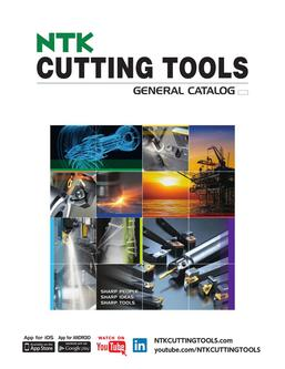 Cutting Tools General Catalog 9/2015