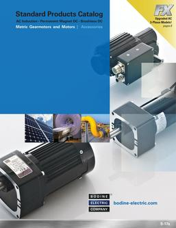 Metric Gearmotors and Motors 2016