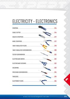 Electricity-Electronics Tools 2015