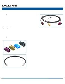 Coax Cable Assemblies 2016