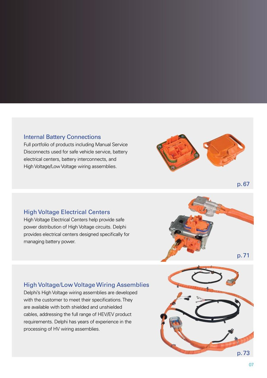 Page 7 of Hybrid and Electric Vehicle Connection Systems 2014