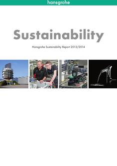 Sustainability Report 2013/2014