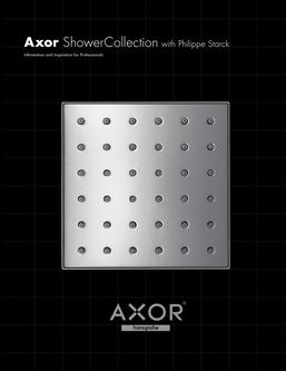 Axor ShowerCollection designed by Philippe Starck 2016