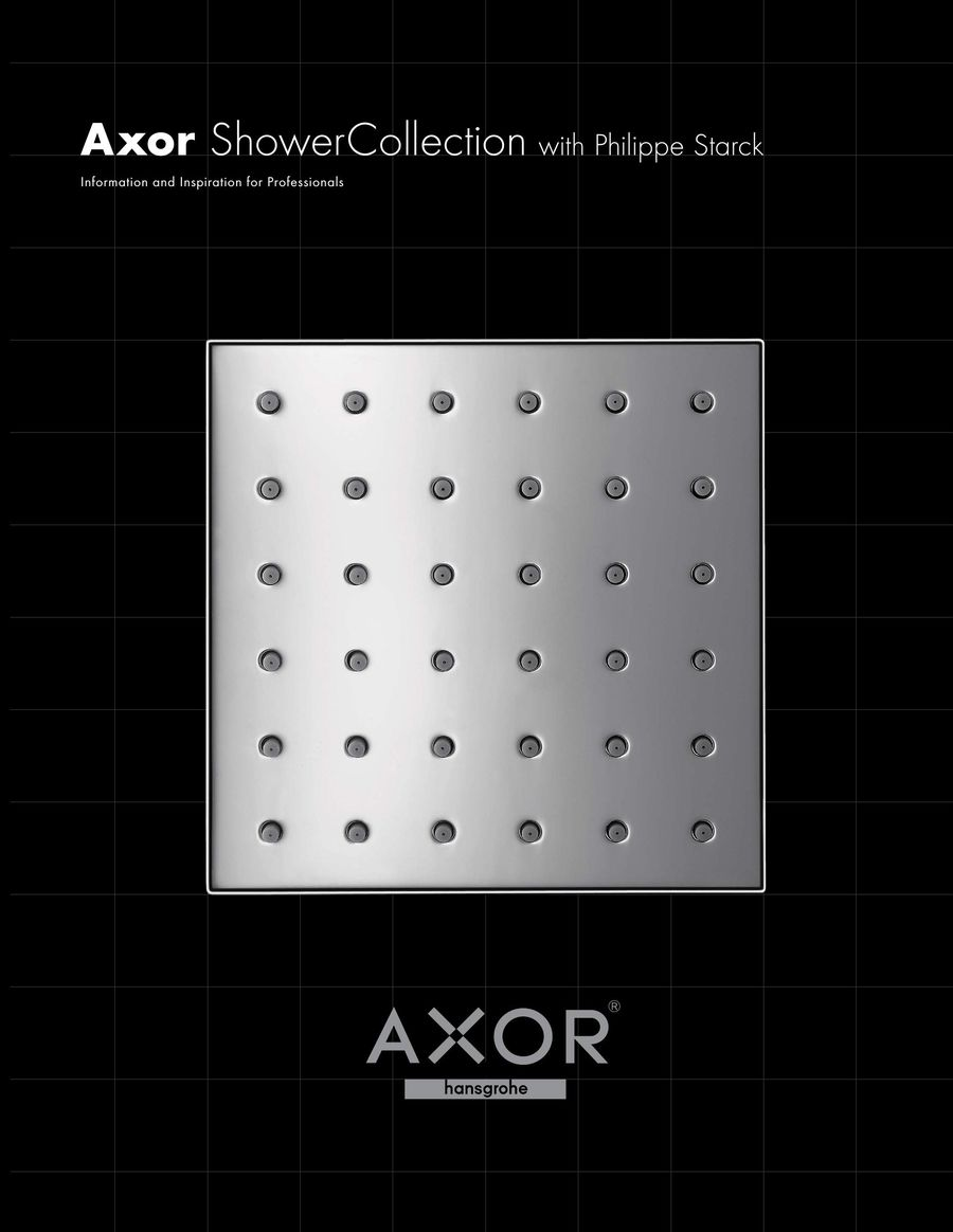 Axor ShowerCollection designed by Philippe Starck 2016 by Hansgrohe USA