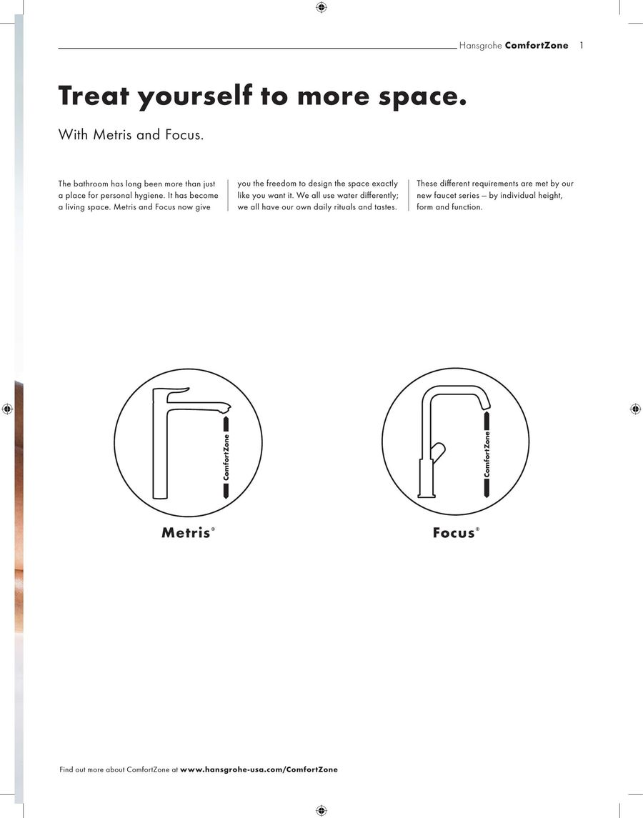 ComfortZone 2012 by Hansgrohe USA