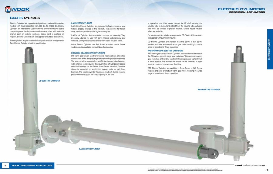 Page 18 of Precision Linear Actuator 2016