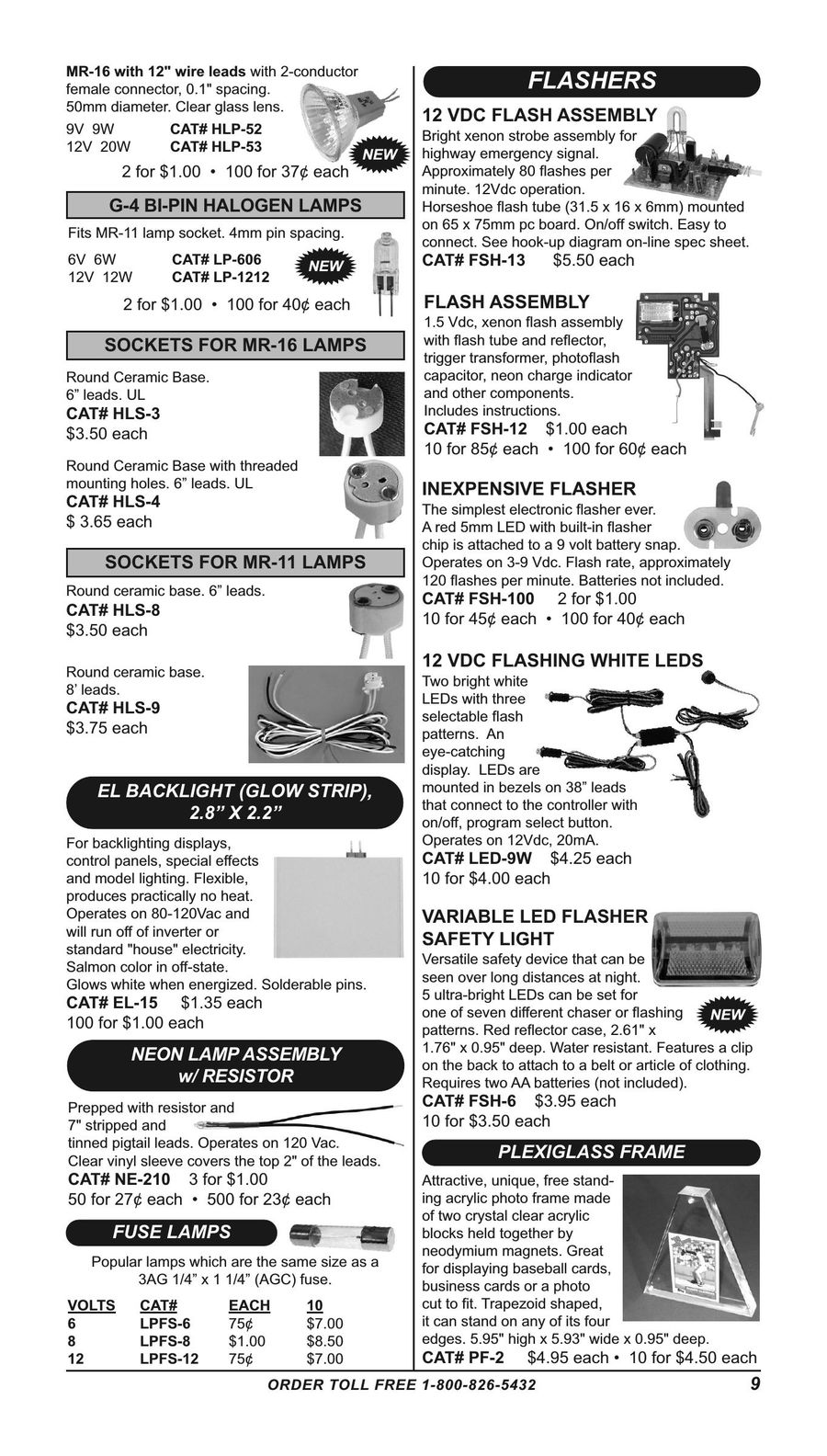 Page 8 of Electronic and electro-mechanical parts and supplies 2016