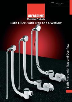 Bath Fillers with Trap and Overflow 2016