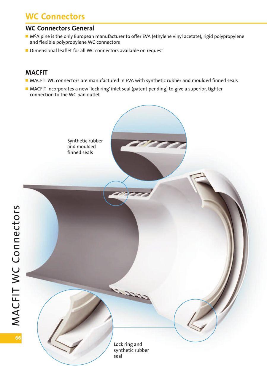 WC Connectors 2016 by McAlpine & Co  Ltd