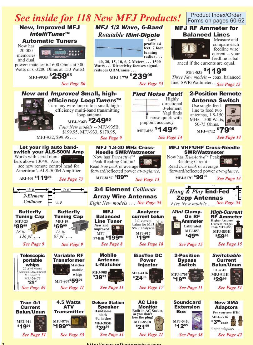 Page 52 of MFJ 2006 Catalog