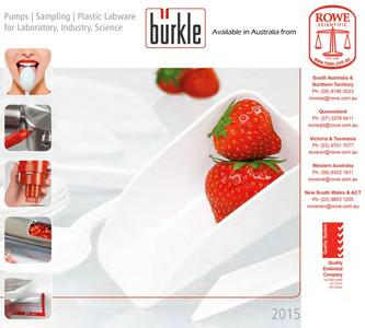 BURKLE  Sampling products 2015