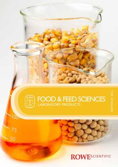 Food & Feed Sciences 2016  Edition 1 Laboratory Products