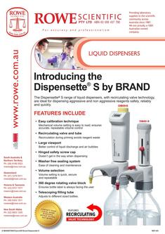 BRAND Dispensette S Liquid Dispensor 2017