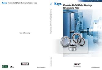 Precision ball roller bearings for machine tools 2016