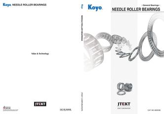 Needle roller bearings 2016